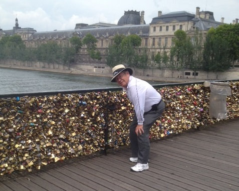 David at Bridge of Locks