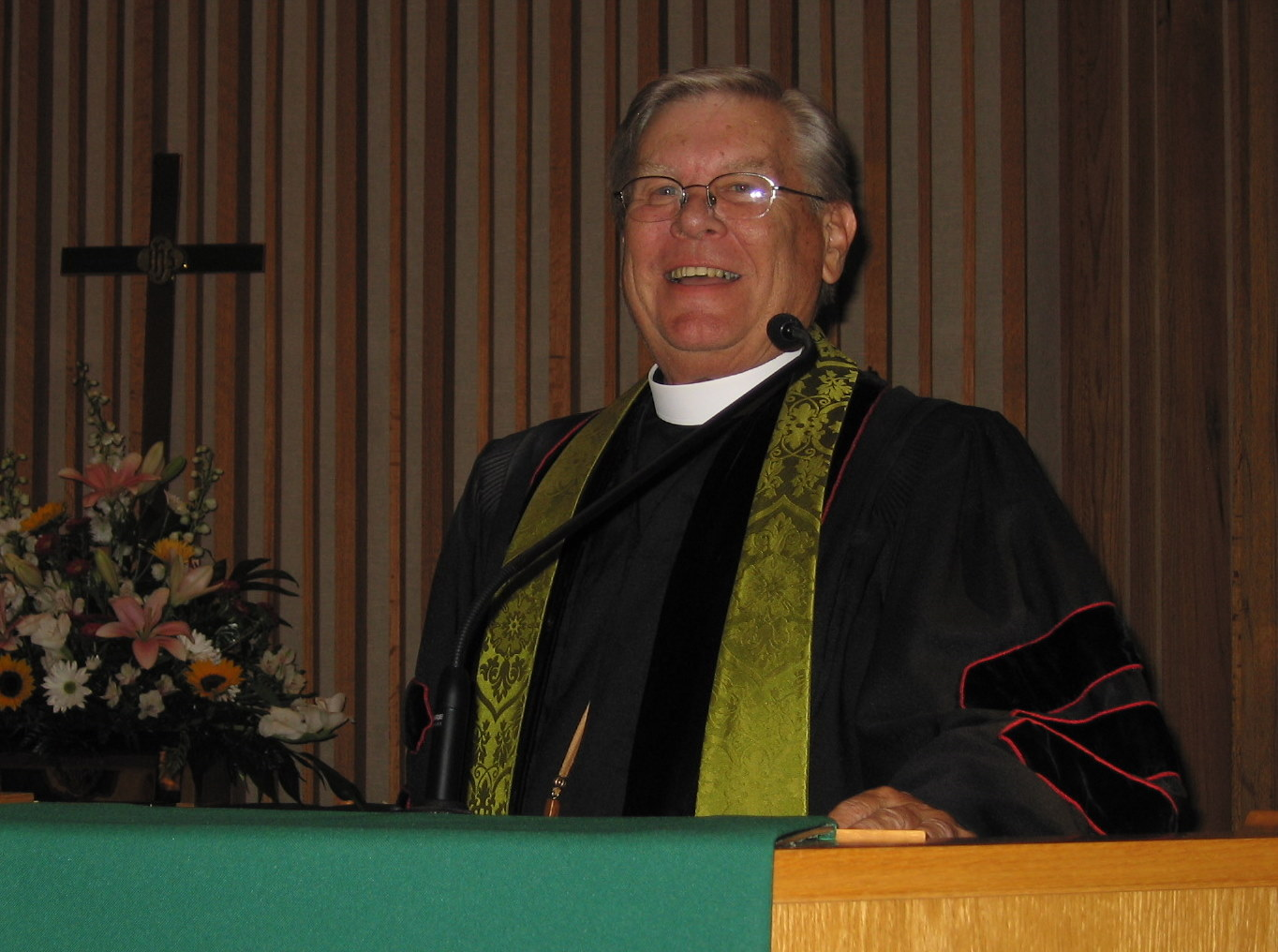 DEL in the pulpit